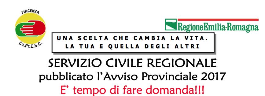 servizio civile regionale piacenza